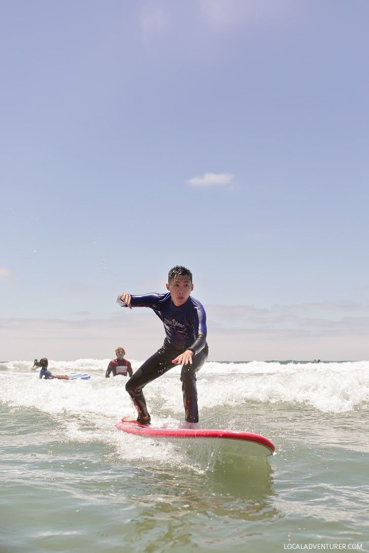 Learn to Surf with San Diego Surf School.