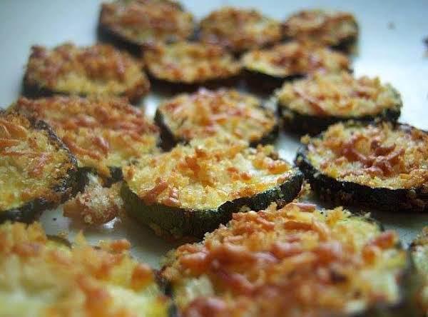Zucchini Parmesean Crisps