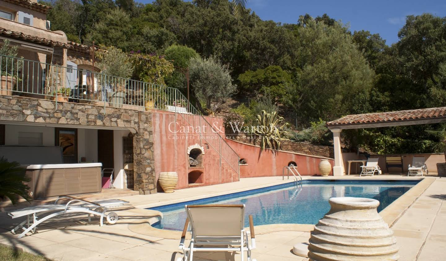 Villa with pool and terrace Cavalaire-sur-Mer