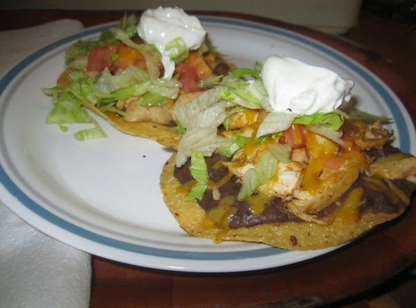 Easy Chicken Tostados Recipe