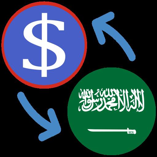 US Dollar Saudi Arabian riyal USD to SAR Converter – Apps