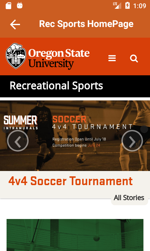 OSURecSports- screenshot