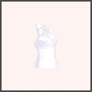 白ウサギノースリーブ