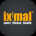 ixmal sport | fitness | health icon
