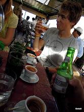 Photo: narozeninový 25cl pivo za cca 80 korun... a největší nášup máty celýho zájezdu