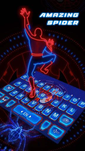 mod Amazing Spider Keyboard Theme  screenshots 1
