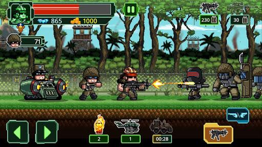 Metal Guns Fury : beat em up 4 screenshots 1