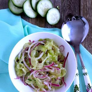 Oma's German Cucumber Salad