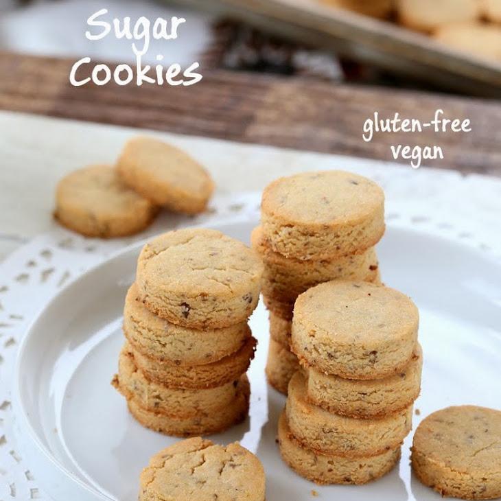 Vegan Gluten free Sugar Cookies!