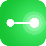 One Line with One Touch – connect the dots Icon