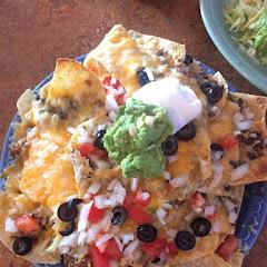 Beef nachos - 1/2 size