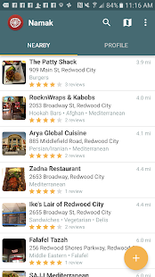 Namak - Halal Food Finder- screenshot thumbnail