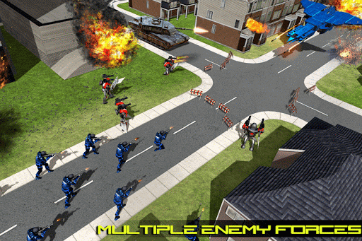 Transform Robot Action Game filehippodl screenshot 5
