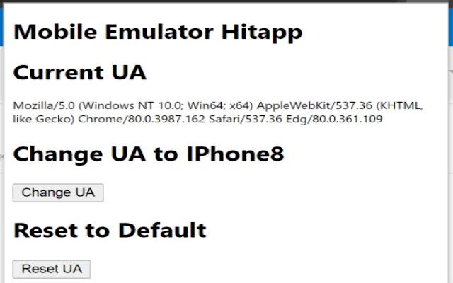 Mobile Emulator Hitapp
