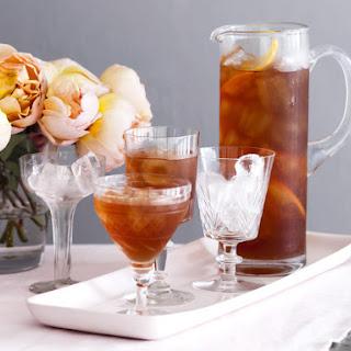 Iced Pomegranate Green Tea.