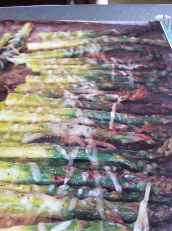Roasted Parmesan Asparagus Recipe