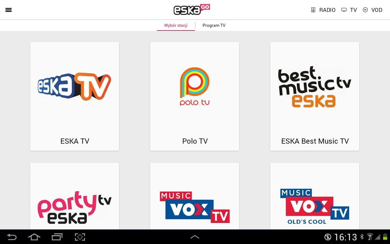 eskaGO - radio   tv   vod- screenshot