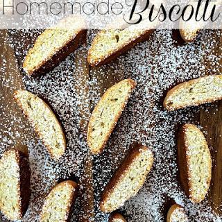 Homemade Biscotti.