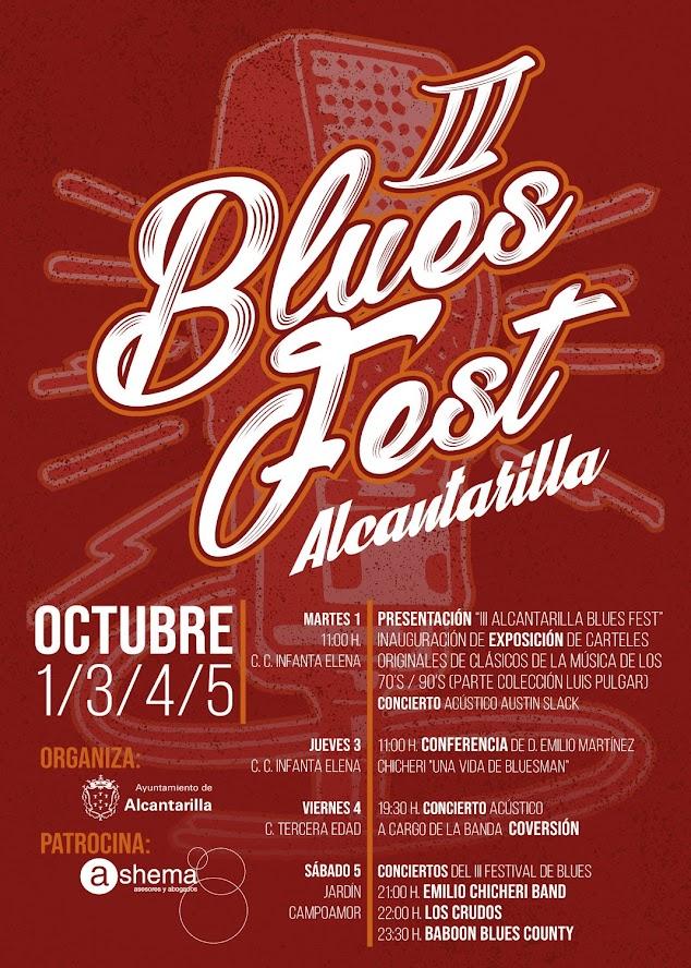 Alcantarilla blues festival