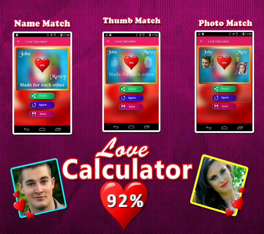 Uncategorized Love Calculate love calculator match by name photofingerprint android apps screenshot