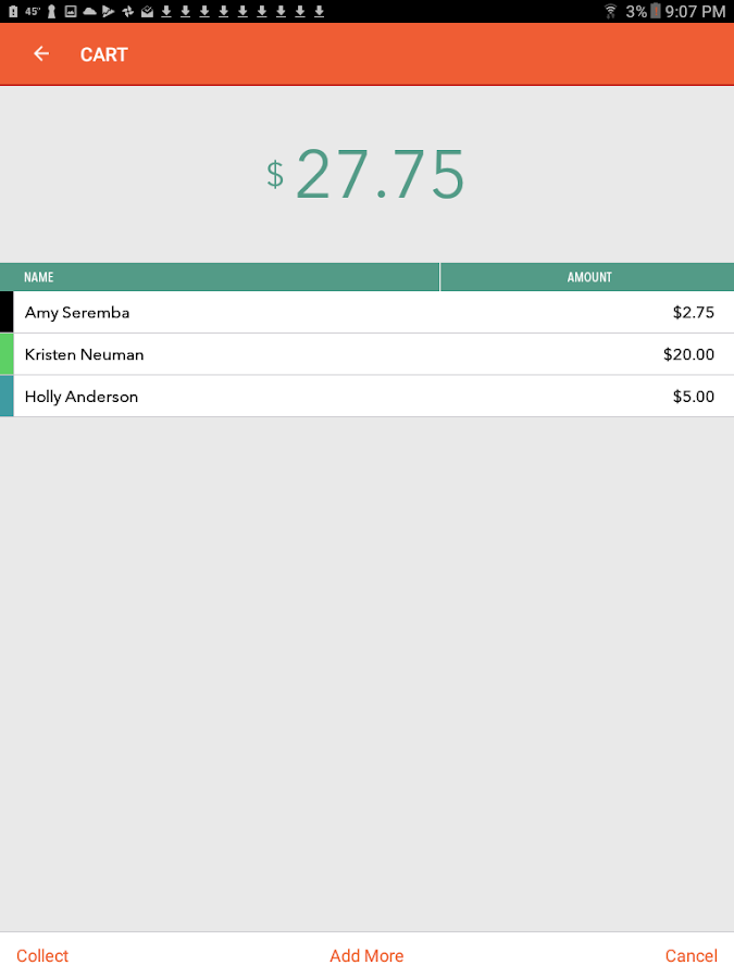 TallySheet - The Garage Sale Cash Register- screenshot