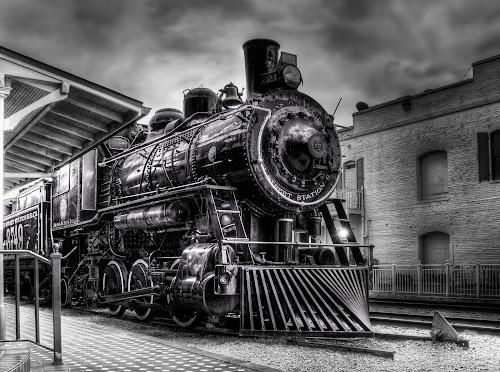 Church Street by Tom Baker - Transportation Trains ( mylifeinhdr, church street station, engine, locomotive, train )