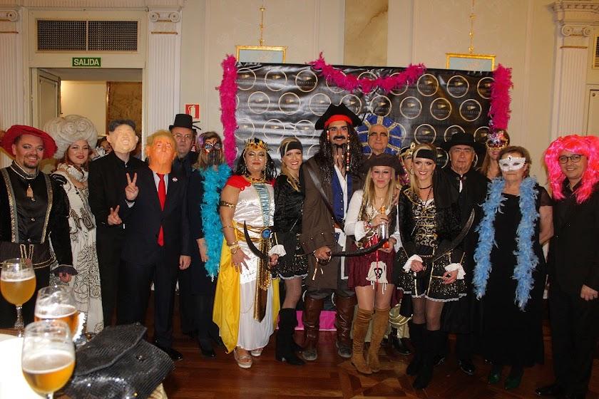 Fiesta solidaria de Carnaval