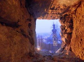 Photo: Blick aus dem Schloß auf Bruneck