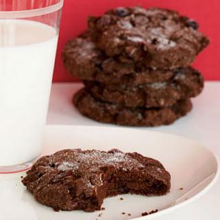 Monster Chocolate Crackle Cookies.
