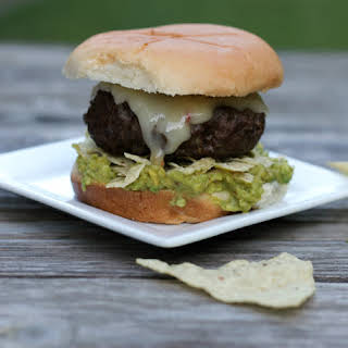 Guacamole Tortilla Chip Burger.