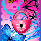 Tema de borboletas GO Locker icon