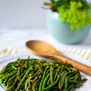 Sauteed Garlic Green Beans.
