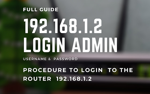192.168.1.2 Login Admin