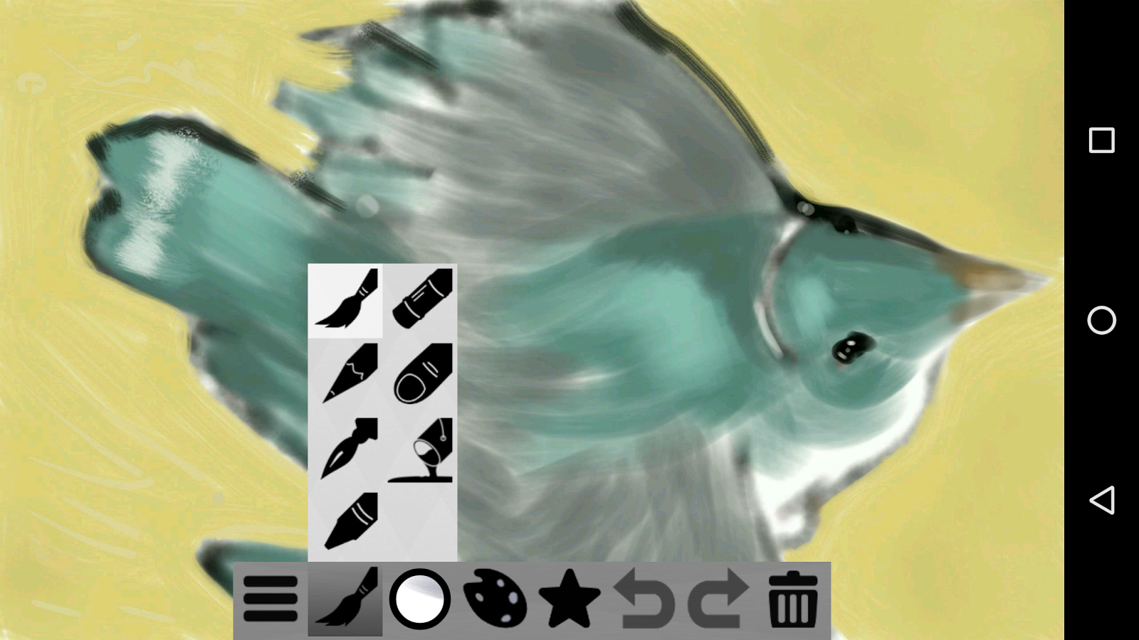 Doodledroid - paint and sketch- screenshot