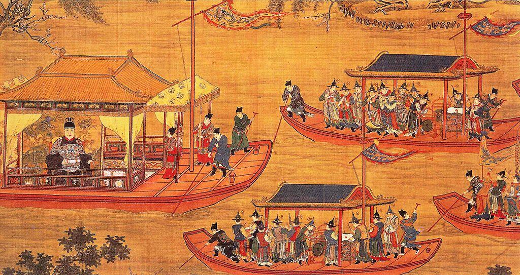 File:Jiajing Emperor on his ...
