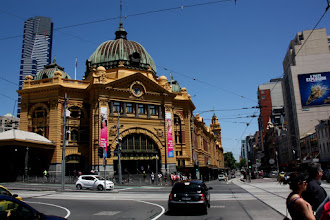 Photo: Year 2 Day 141 - Another View of Flinden Street Station in Melbourne