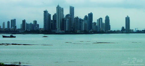 Photo: Outside the City looking In: Panama City