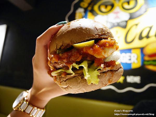台北美式/Stan&Cat 史丹貓美式餐廳。份量大又美味,東區美式餐廳推薦。打卡還送冰淇淋薯條(完整菜單) ♥
