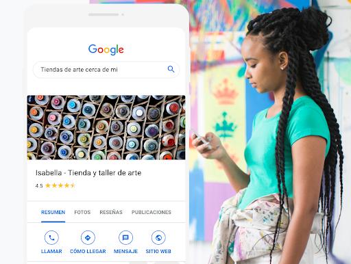 Mejora tu perfil empresarial de Google