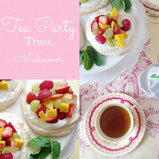 Tea Party Pavlovas
