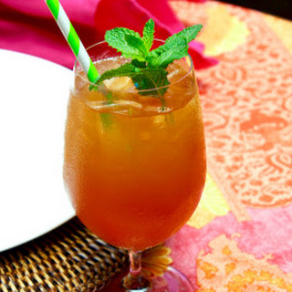 Rhubarb Mango Passion Fruit Tea Punch