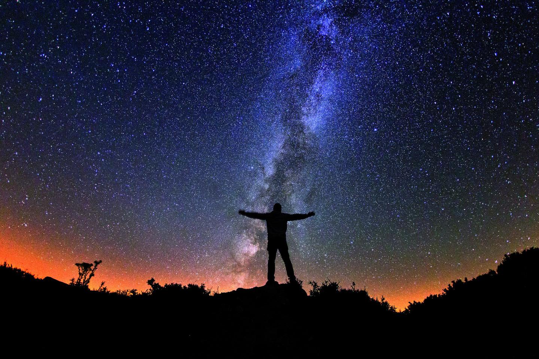 Si tienes suerte y no hay nubes en el cielo, puedes gozar de vistas como estas en los destinos Starlight 🤩