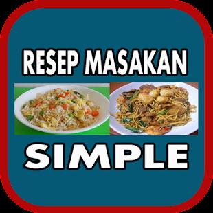Aneka Resep Masakan Simple - náhled