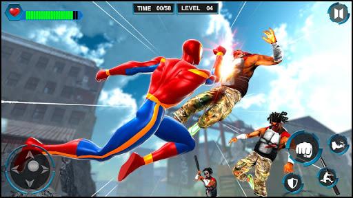 Télécharger Gratuit araignée jeux homme: les meilleurs jeux de combat  APK MOD (Astuce) screenshots 5