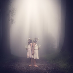 Guardians of Innocence... by Andy Dyso - Babies & Children Child Portraits