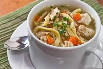 David's Chicken Noodle Soup
