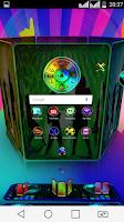 Screenshot of Next Launcher 3D Theme ClubMix