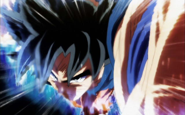 Ultra Instinct Goku Wallpapers New Tab