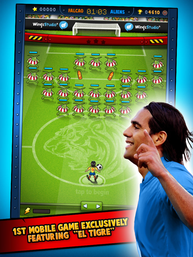 Falcao vs Aliens- screenshot