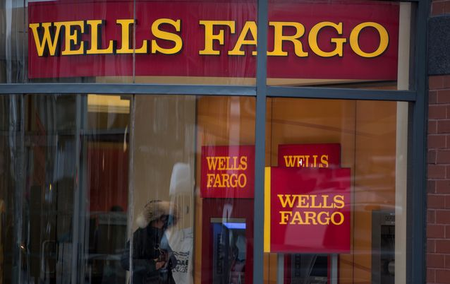 NOT SETTLED YET: Wells Fargo has reported better-than-expected first-quarter results. Picture: BLOOMBERG/RON ANTONELLI
